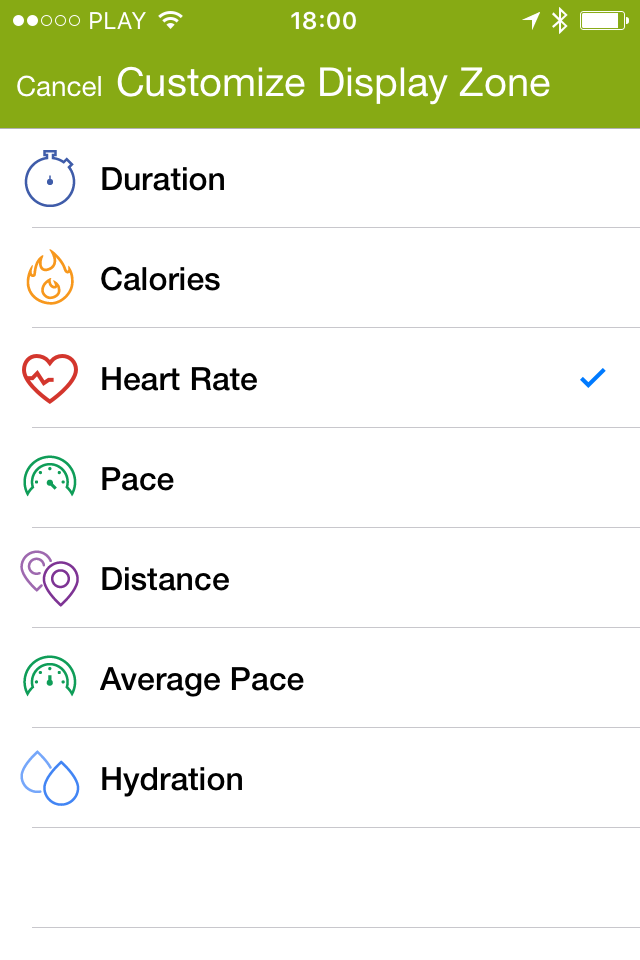 Mi Heart Rate measuring heart rate in Endomondo with Mi Band 2 and Mi Band 1s