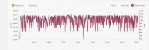 Результаты Mi HR на MiBand 2