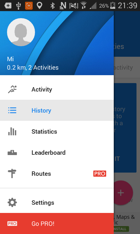 How to connect Xiaomi Mi Band 1s and Mi Band 2 to Runtastic on Android